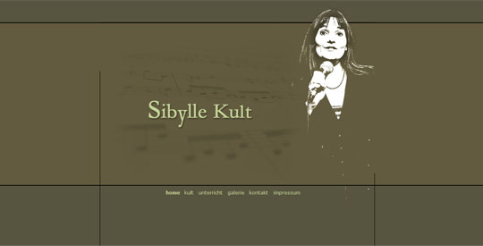 Website Sibylle Kult